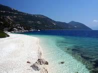 Αποτέλεσμα εικόνας για best beaches ithaca island
