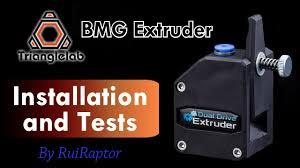 <b>Trianglelab BMG</b> Extruder - Installation & Tests - YouTube