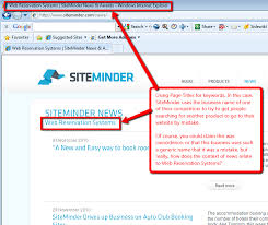 Image result for siteminder