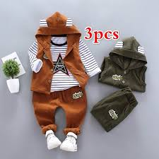 3pcs NEW Baby <b>Autumn</b> Clothing Suit Kids Boy Handsome ...