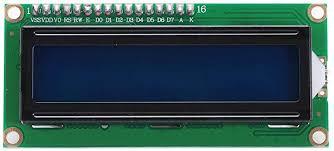 16X2 <b>1602 Character LCD</b> Module Black on Green Backlight ...