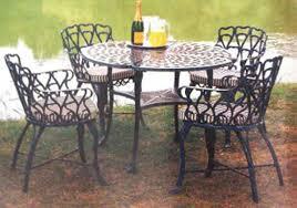 cast iron outdoor furniture ideas black iron outdoor furniture