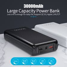 <b>Essager</b> 30000mAh <b>Power</b> Bank Quick Charge 3.0 PD USB C ...
