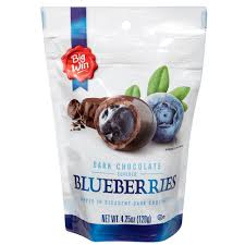 Big Win <b>Dark</b> Chocolate <b>Covered Blueberries</b> - 4.25 oz