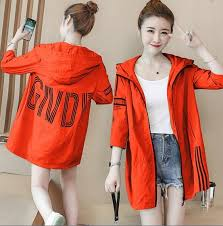 2018 <b>summer new</b> sun protection clothing long section <b>loose</b> large ...