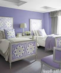 rooms paint color colors room: purple cce  hbx purple twin beds howard  s