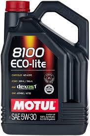 <b>Синтетическое моторное масло Motul</b> 8100 Eco-lite 5W30 5 л ...