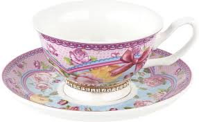 <b>Чайная пара Nouvelle</b> Розовый нектар Кристалл, M0661186-1 ...