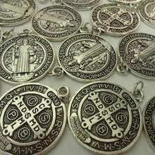 10 шт., религиозный католический Древний <b>серебряный крест</b> ...