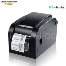 <b>ISSYZONEPOS Barcode Thermal Label Printer</b> 3 inch <b>Sticker</b> Paper ...