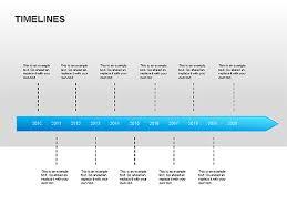timeline diagrams for presentations in powerpoint and keynote    timeline diagrams presentation template  master slide
