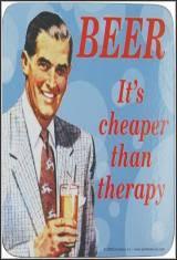 La Cerveza Es Mas Barata Que La Terapia