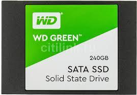 Купить SSD <b>накопитель WD</b> Green WDS240G2G0A 240ГБ, 2.5 ...
