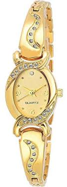 Buy Cloudwood Analog Bangle Gold Dial Luxury <b>Fashion Bracelet</b> ...