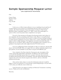 sponsorship letter examples for sports of personal sponsorship cover letter sponsorship letter examples for sports of personal sponsorship school event the fund raiser request