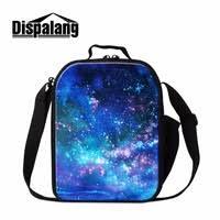 <b>Dispalang</b> Galaxy Print Small <b>Lunch</b> Cooler Bag for Kids School ...