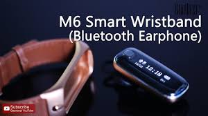 <b>M6</b> Bluetooth 4.0 <b>Smart Wristband</b> - Gearbest.com - YouTube