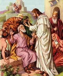 Image result for jesus and blind man