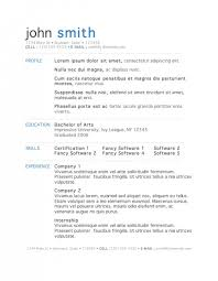 Premium and Free Resume Templates