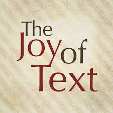 The Joy of Text - Jewish Public Media