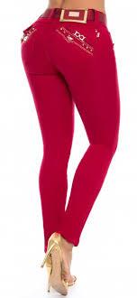 <b>Jeans</b> levanta cola <b>WOW</b> 86518 Rojo | <b>Джинсы</b>, <b>Брюки</b> и Одежда