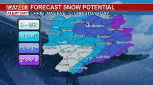 <b>Heavy</b> rain tonight, snow by <b>Christmas</b> Eve