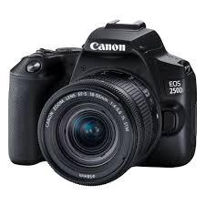 Цифровой зеркальный <b>фотоаппарат Canon EOS</b> 250D Kit 18-55 ...