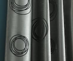 Silver Curtains For Bedroom Black And Silver Kitchen Curtains Black And Silver Curtains
