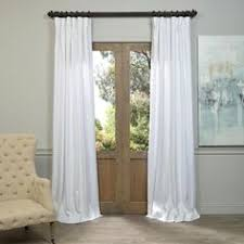 eff linen 108 inch curtain panel amazoncom furniture 62quot industrial wood