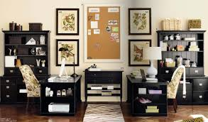 cute office decor ideas furniture office workspace organized office workspace office workspace black wooden home office black shag rug home office