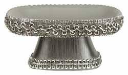 <b>Стакан Avanti Braided Medallion</b> Silver для зубных щеток купить в ...