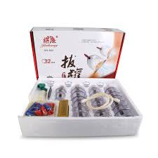 <b>32 Pieces Cans cups</b> chinese vacuum cupping kit pull out a vacuum ...