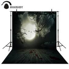 <b>Allenjoy Halloween Background</b> Brick Wall Bloodstained Faint ...