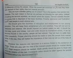 terrorism or sucide bombing brief essay in english for students  speech on terrorism in  in englishspeech on terrorism in englishpeshawar attack