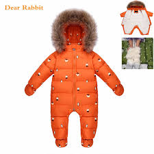 <b>Designed for Russian winter</b> jumpsuit baby girl clothes snowsuit 90 ...