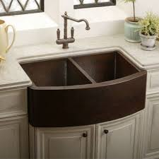 copper kitchen sinks apron front sink and copper kitchen on pinterest apron kitchen sink