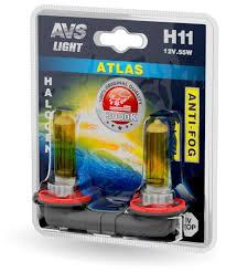<b>Лампа</b> автомобильная галогенная <b>AVS Atlas Anti</b>-<b>fog</b> A78619S ...