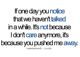 bestlovequotes: It's not because I don't care... - Tumblr Quotes ...