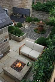 patio slab sets: outdoor kitchen and fire pit urban courtyard for entertaining inspired garden design urban courtyard