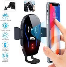 DM Car Phone Mount Air Vent Automatic Clamping ... - Amazon.com