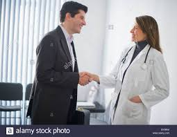 pharmaceutical representative stock photos pharmaceutical usa new jersey jersey city medical s representative shaking hands female doctor