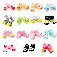 VWU 6 Pack <b>Baby</b> Cute Animal <b>Socks</b> Infant Slipper Shoes Anti Slip ...