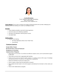 cover letter samples of resumes objectives samples of resume cover letter resume objective ideas cover letter job resume objectives examples career goals for to inspire