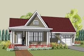 Simple and Unique House Plans   Simple home designs in Cottage        Simple yet Unique Cottage House Plan   Hudson Cottage
