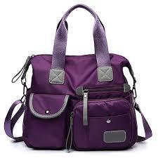 Women <b>Nylon Waterproof Large</b> Capacity <b>Handbag</b> Shoulder <b>Bag</b>