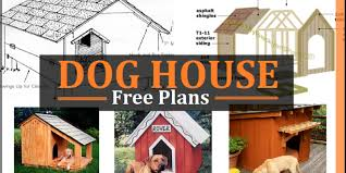 Dog House Plans   Free DIY Projects   Construct dog house plans