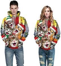 KENANCY <b>Men</b> Ugly Christmas Sweater 3D <b>Print</b> Human <b>Body</b> ...