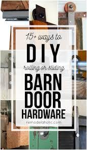Sliding Barn Doors 20 Diy Barn Door Tutorials