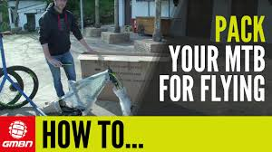 Pack Your <b>Bike In</b> A Cardboard Box - YouTube