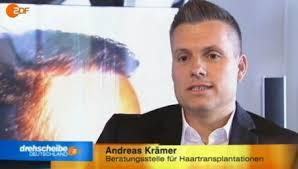 Medienauftritt von Haartransplantations-Experte Andreas Krämer bei ZDF Drehscheibe Deutschland am 21. August 2012. | Haartransplantation Beratungsstelle ... - drehscheibe_11kl1
